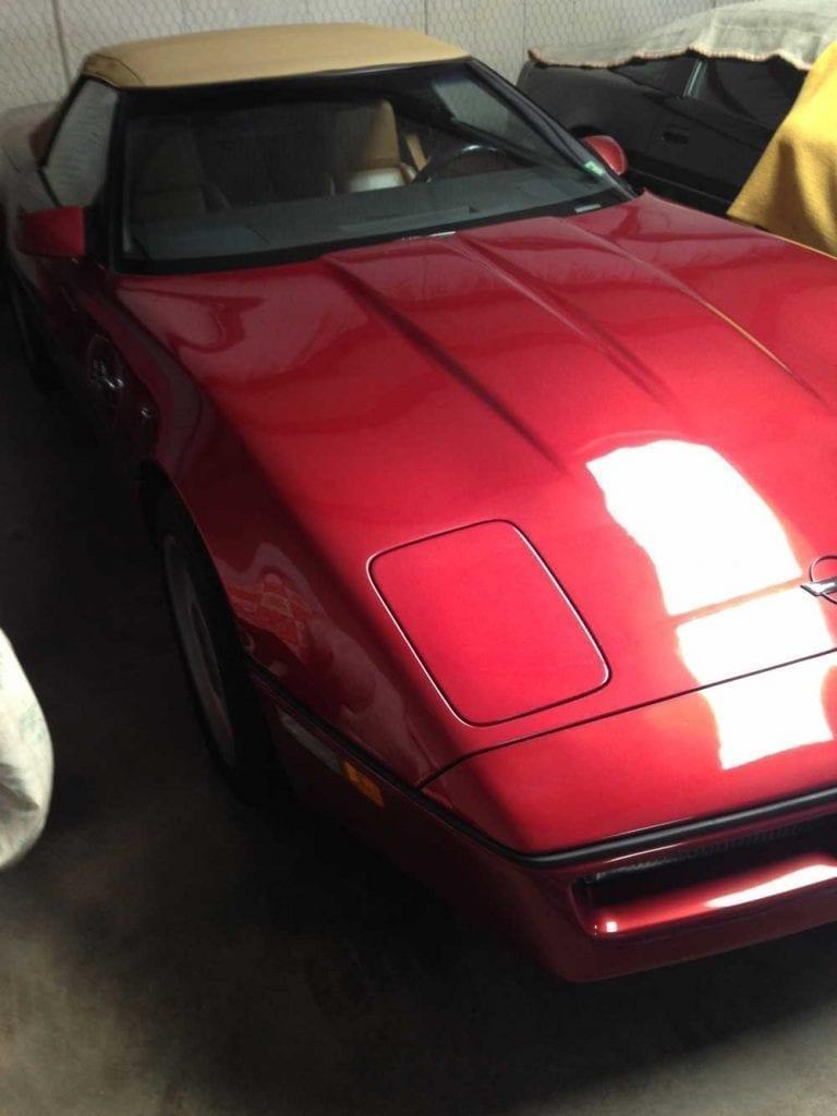 1988 Callaway Twin Turbo Corvette Convertible