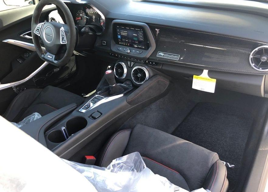 2020 Callaway Camaro ZL1 SC750 1LE - interior
