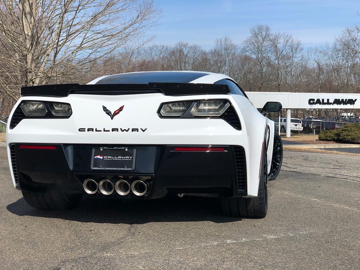 2019 Callaway Corvette Z06 SC757 - rear view