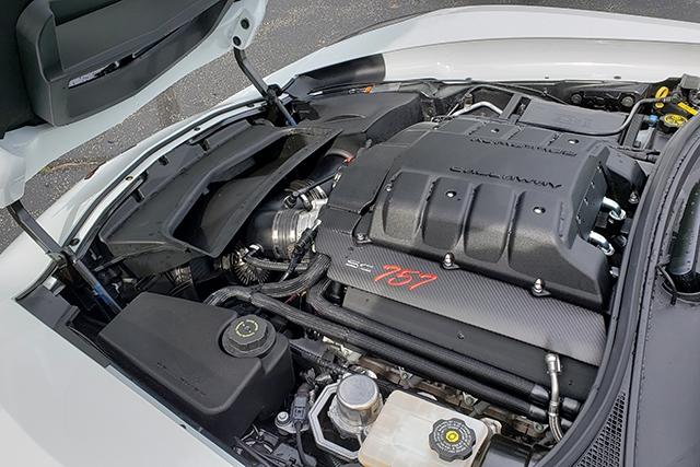 2019 Callaway Corvette SC757 - underhood