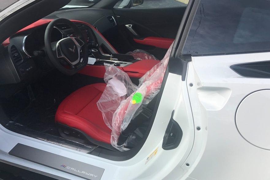 2019 Callaway Corvette SC757 - interior