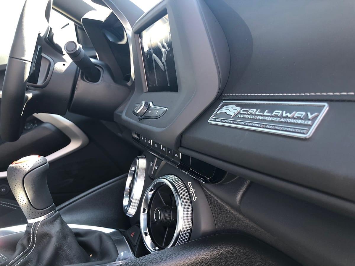 2020 Callaway Camaro LT1 SC630 - interior