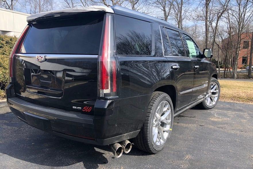 2020 Callaway Escalade SC560 - rear view
