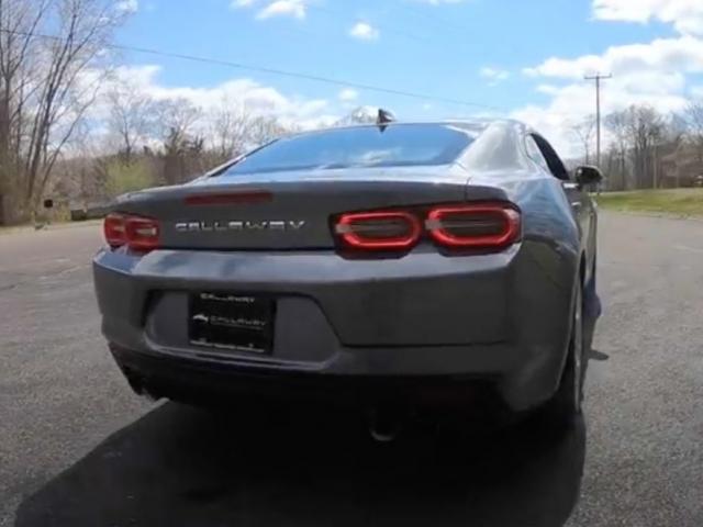 2020 Callaway Camaro LT1 SC630 - rear view
