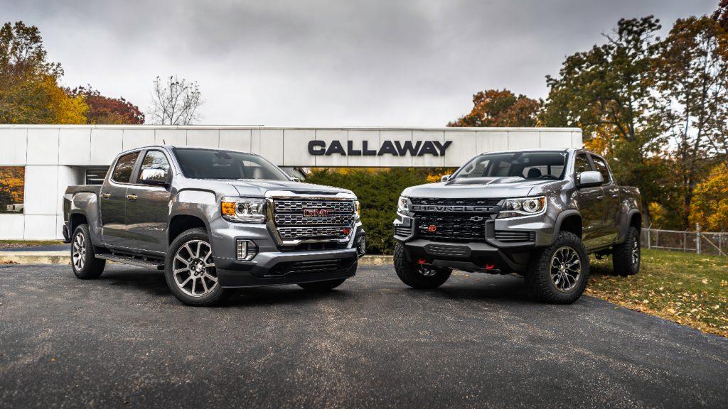 Callaway Colorado SC410 and Callaway Canyon SC410