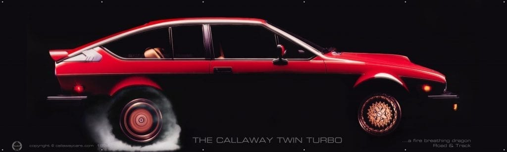 1985 Alfa Romeo GTV-6 Callaway Twin Turbo for sale