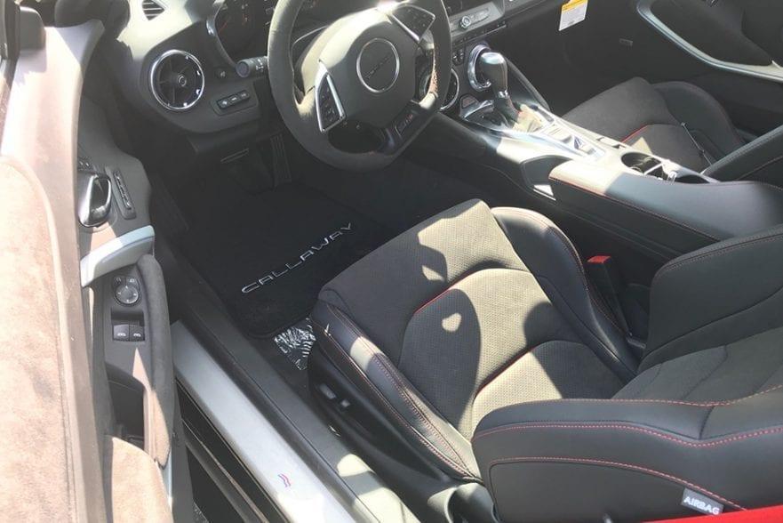 2020 Callaway Camaro ZL1 SC750 - rear view