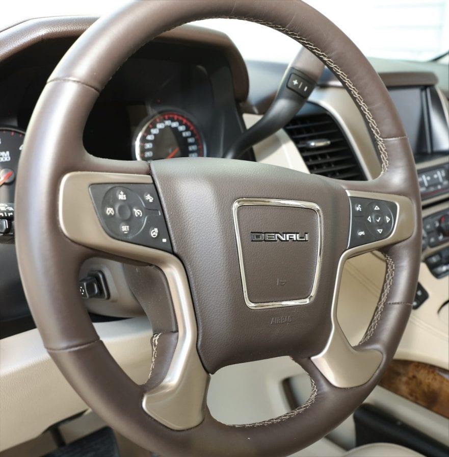 2015 Callaway Yukon XL Denali SC560 - steering wheel