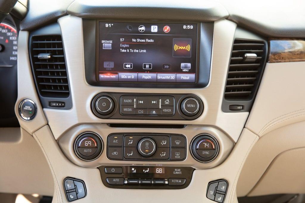 2015 Callaway Yukon XL Denali SC560 - dash controls