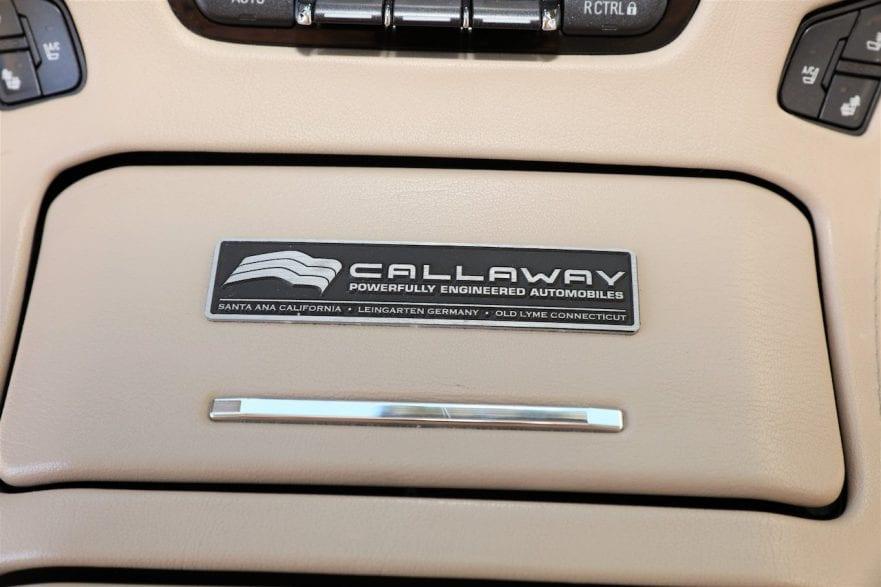 2015 Callaway Yukon XL Denali SC560 - console badge