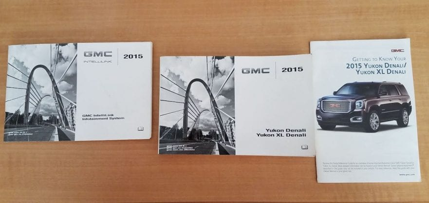 2015 Callaway Yukon XL Denali SC560 - GMC owner manuals