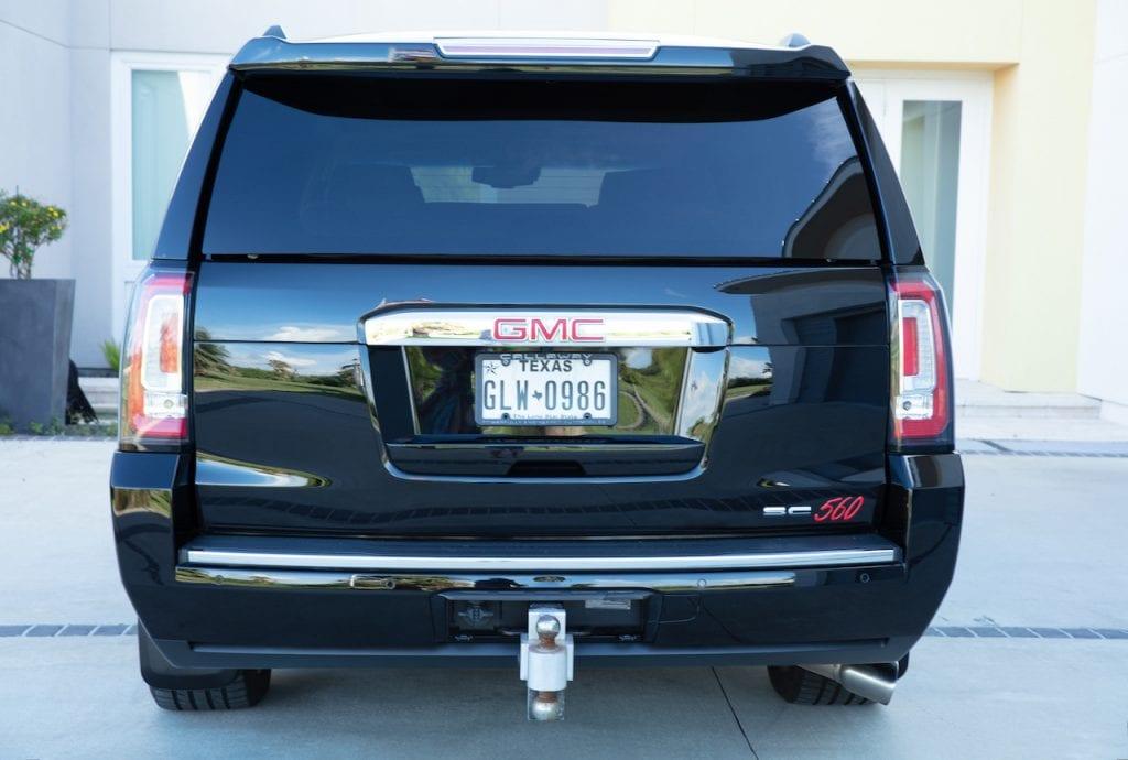 2015 Callaway Yukon XL Denali SC560 - rear view