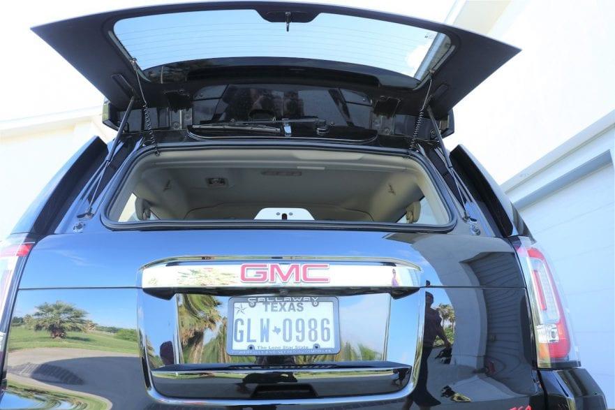 2015 Callaway Yukon XL Denali SC560 - rear hatch