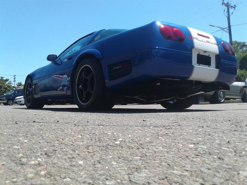 1996 Callaway Corvette SuperNatural GrandSport - rear view