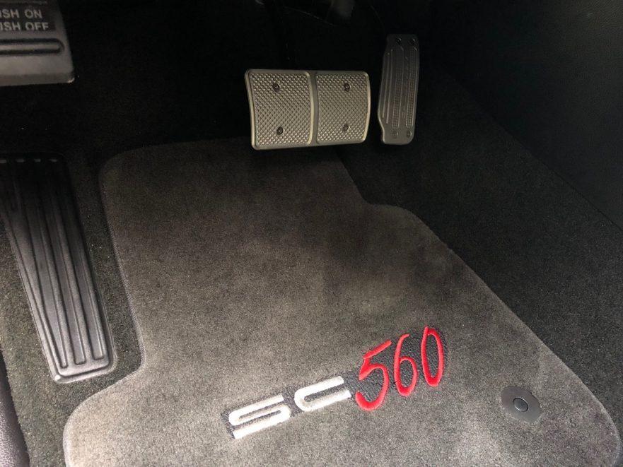 2018 Callaway Tahoe RST Development Vehicle - floor mat/pedals