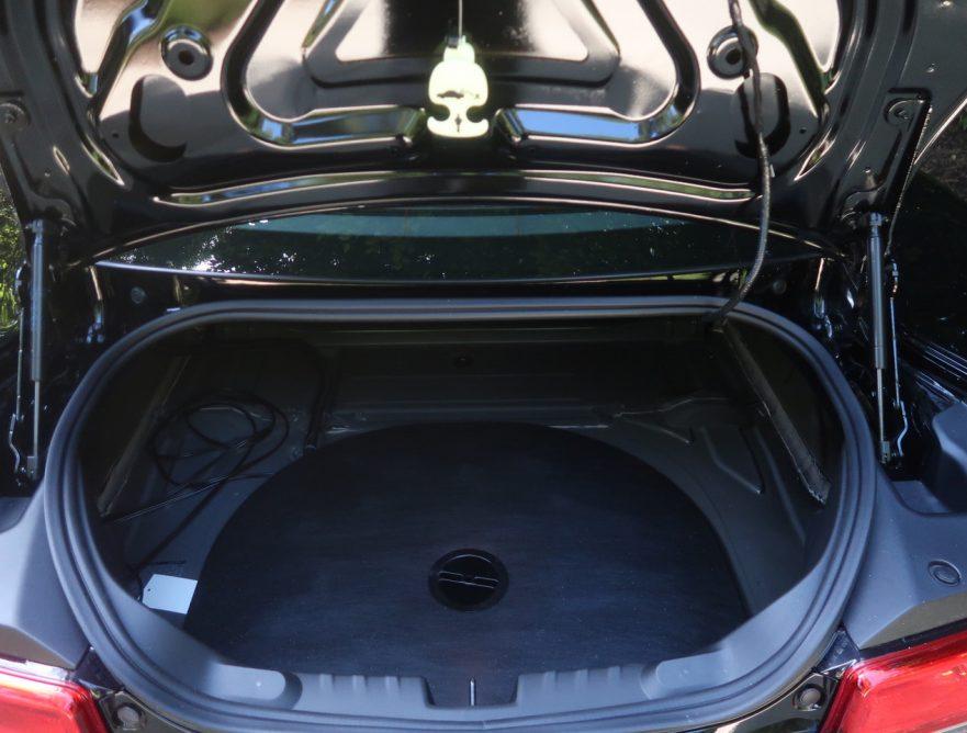 2014 Callaway Camaro SC652 - trunk compartment