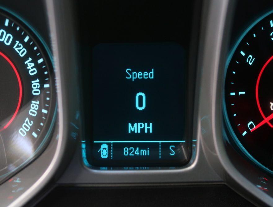 2014 Callaway Camaro SC652 - odometer