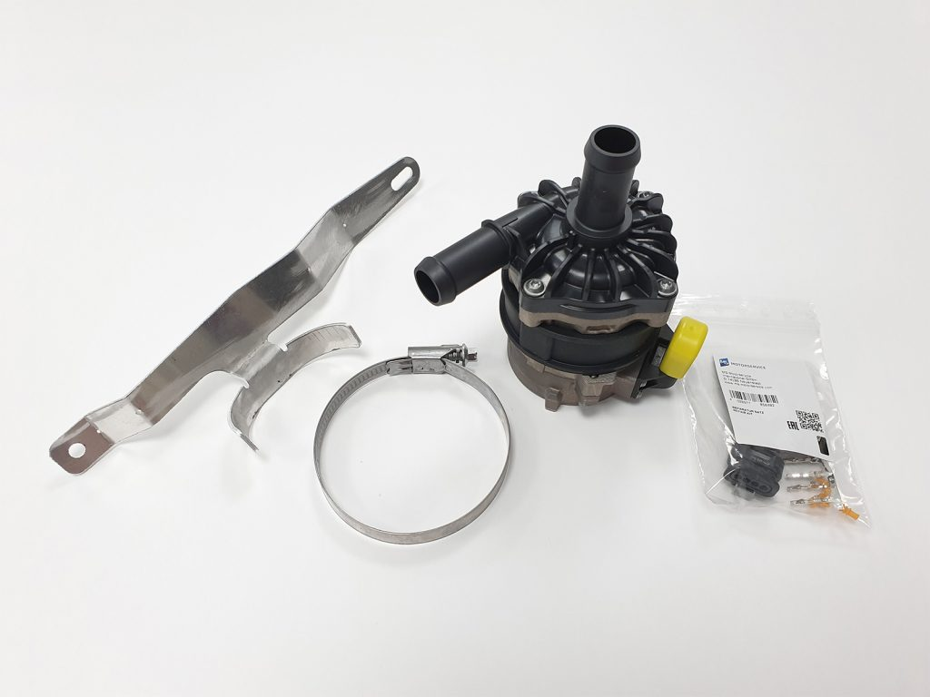 HD Cooling System Pump and Bracket