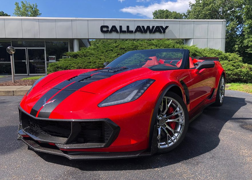 Callaway Corvette w/HD Cooling System