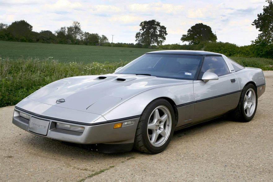 1987 Callaway Twin Turbo Corvette - front view