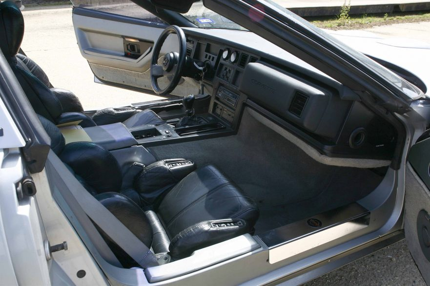 1987 Callaway Twin Turbo Corvette - interior