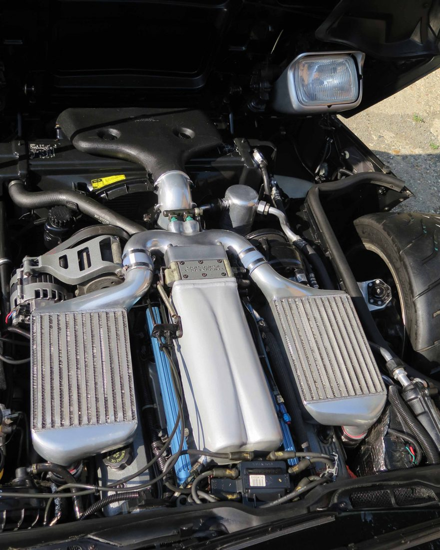 1987 Callaway Twin Turbo Corvette - underhood