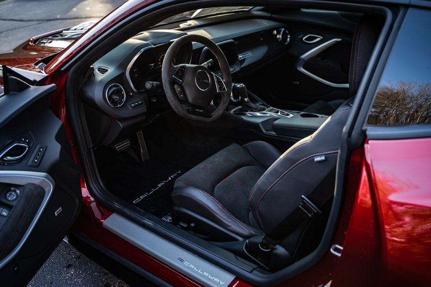 2021 Callaway Camaro SC750 - interior