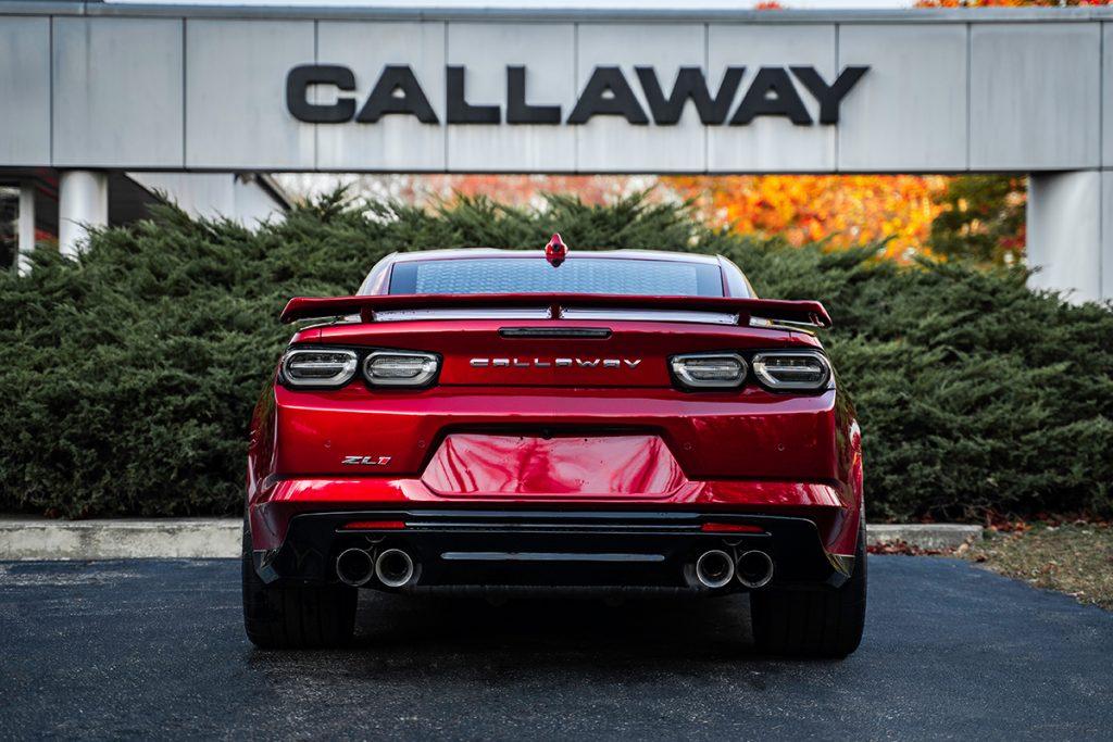 2021 Callaway Camaro SC750 - rear view