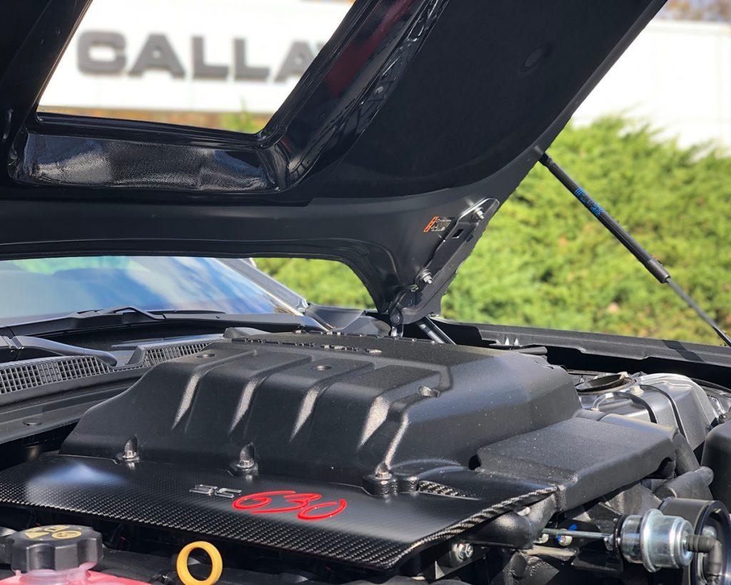 2020 Callaway Camaro SC630 - underhood
