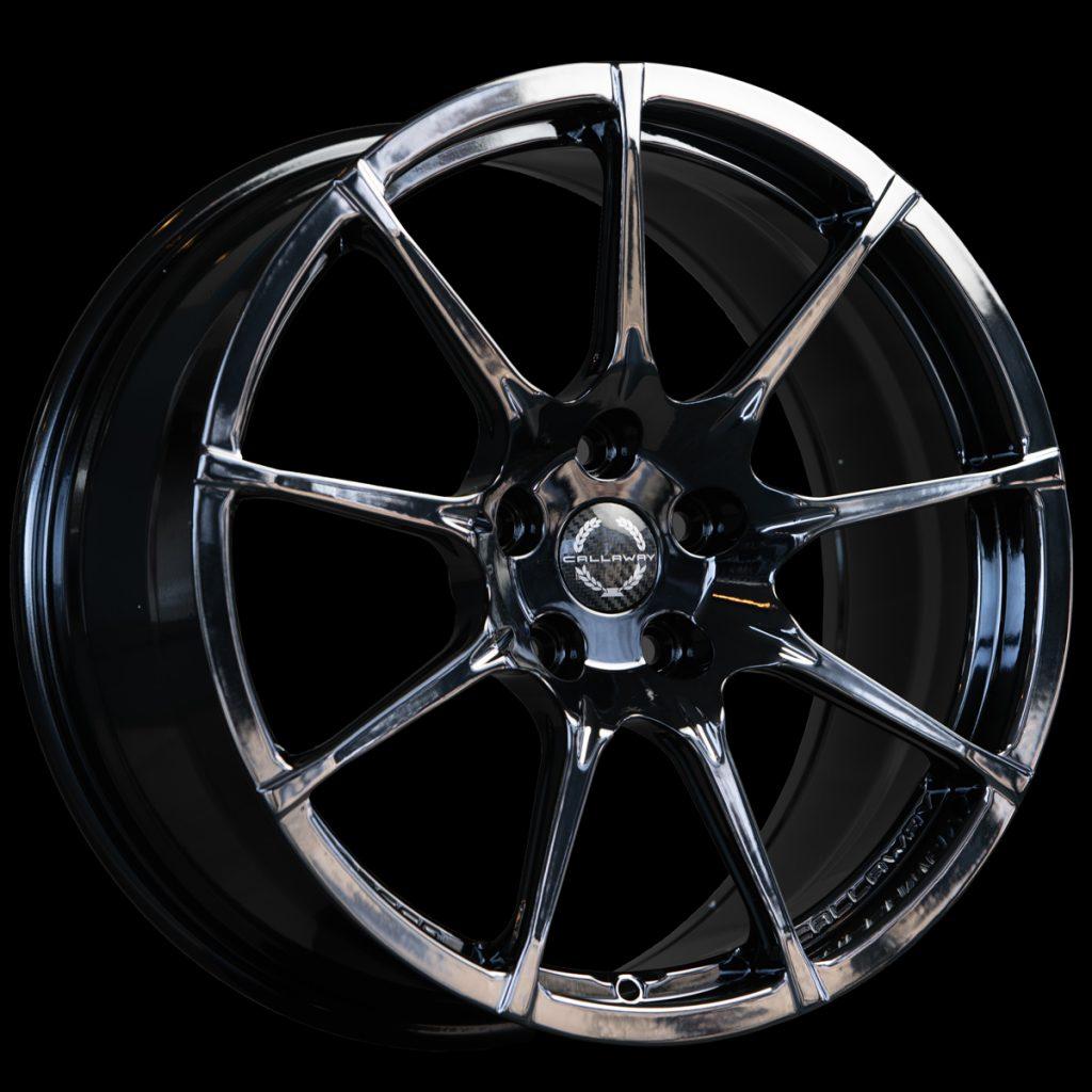 Callaway Forged C8 Corvette Wheel - Black Chrome PVD