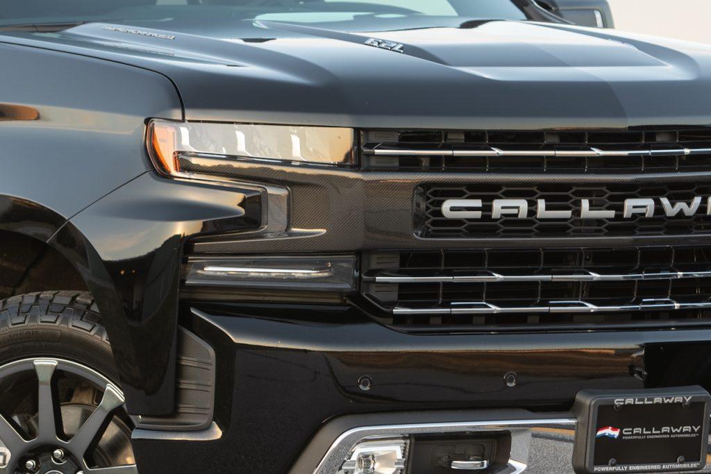 Callaway Silverado SC602 - Grille Detail