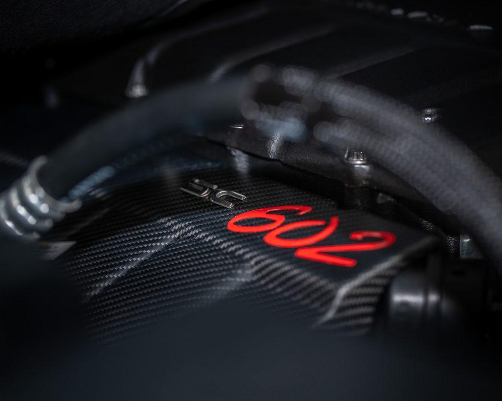 Callaway Silverado SC602 - Engine Detail