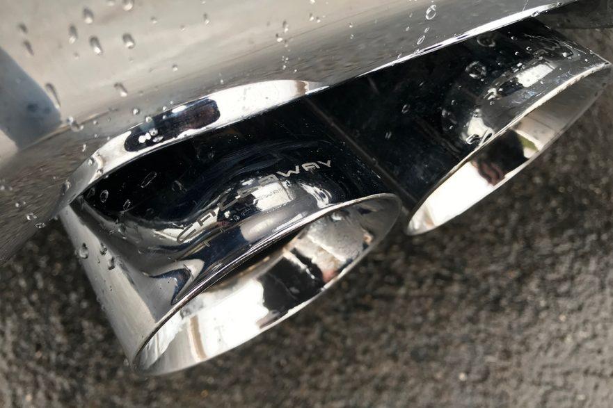 Callaway Silverado Signature Edition - Exhaust Tips