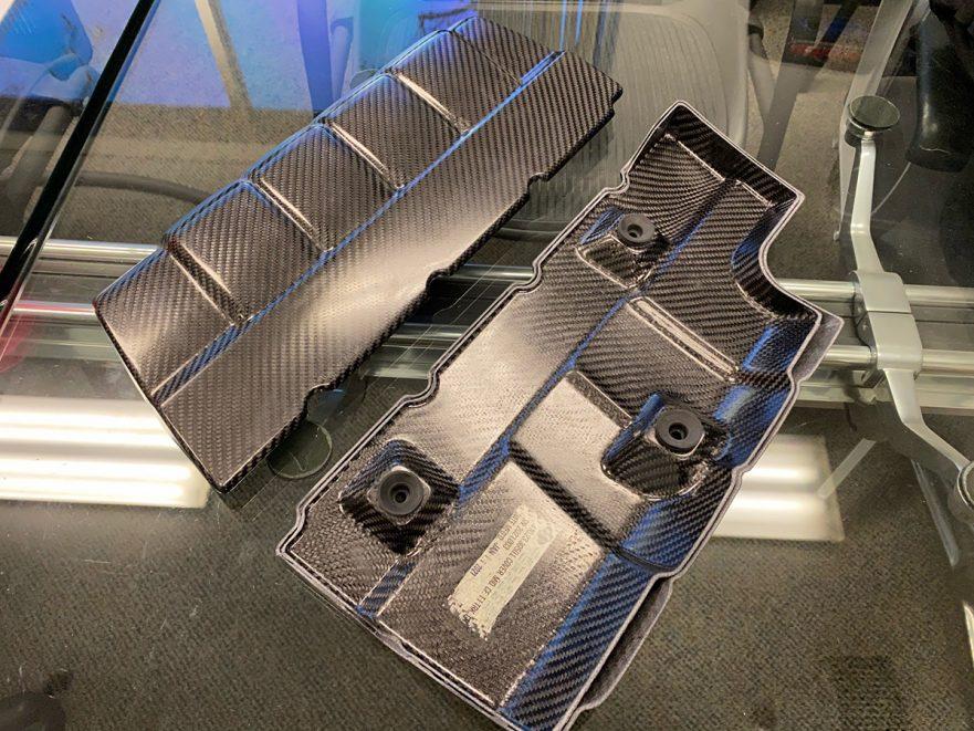 Callaway Silverado Signature Edition - Carbon Fiber Mid-Engine Covers