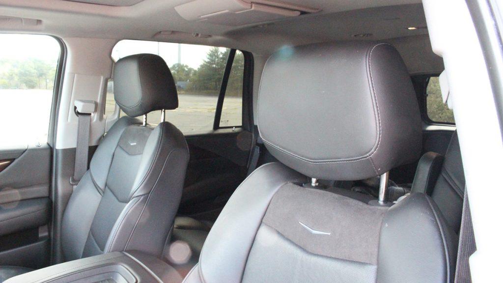 2018 Callaway Escalade SC560 - front seat