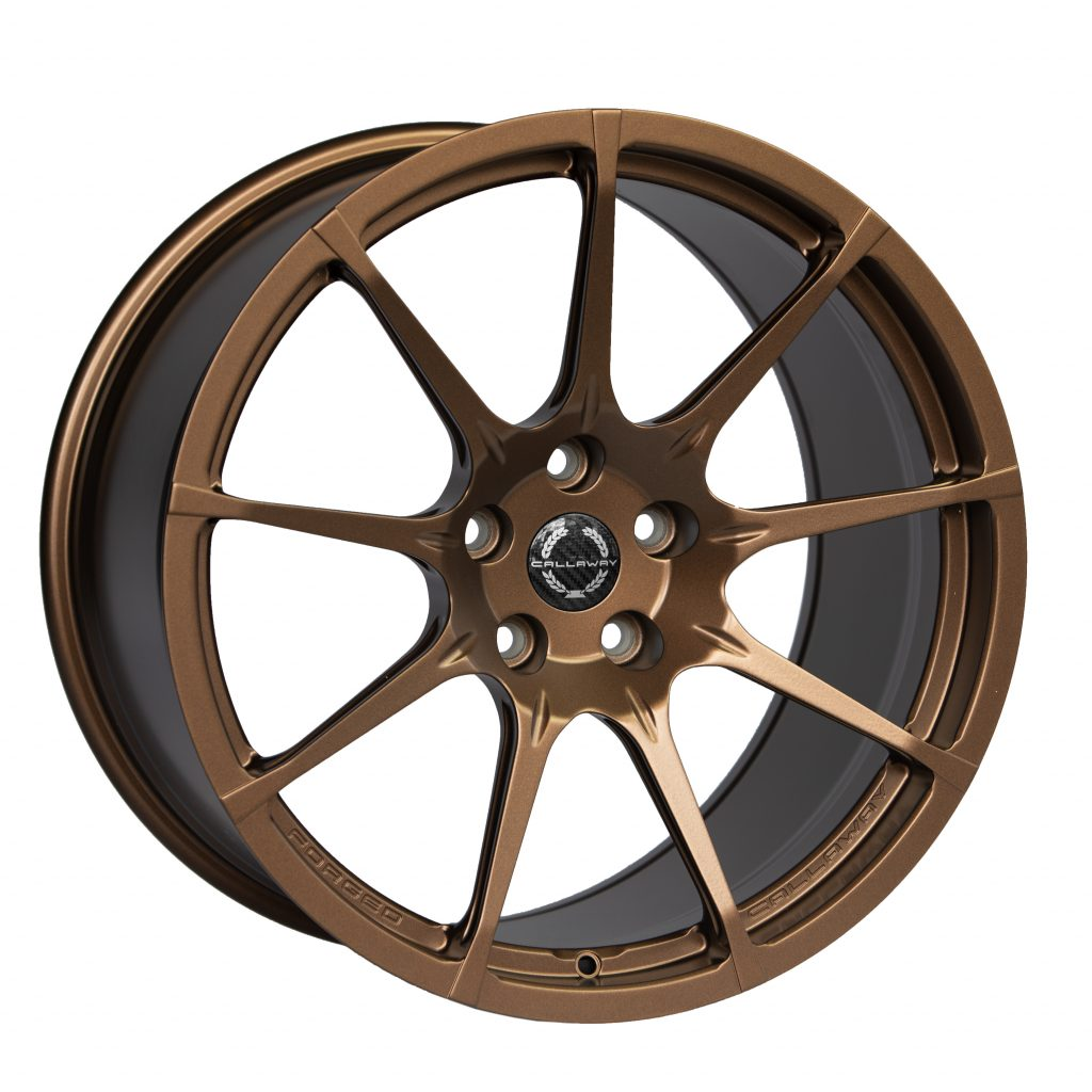 Callaway Forged C8 Corvette Wheel - Matte Bronze