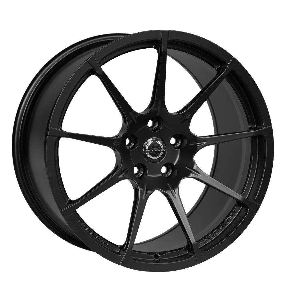 Callaway Forged C8 Corvette Wheel - Satin Black