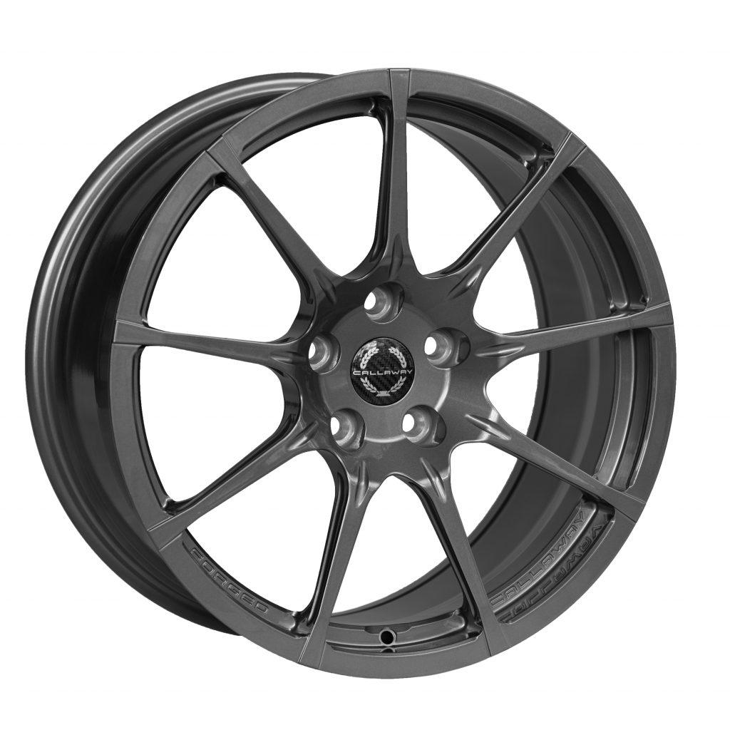 Callaway Forged C8 Corvette Wheel - Gloss Titanium