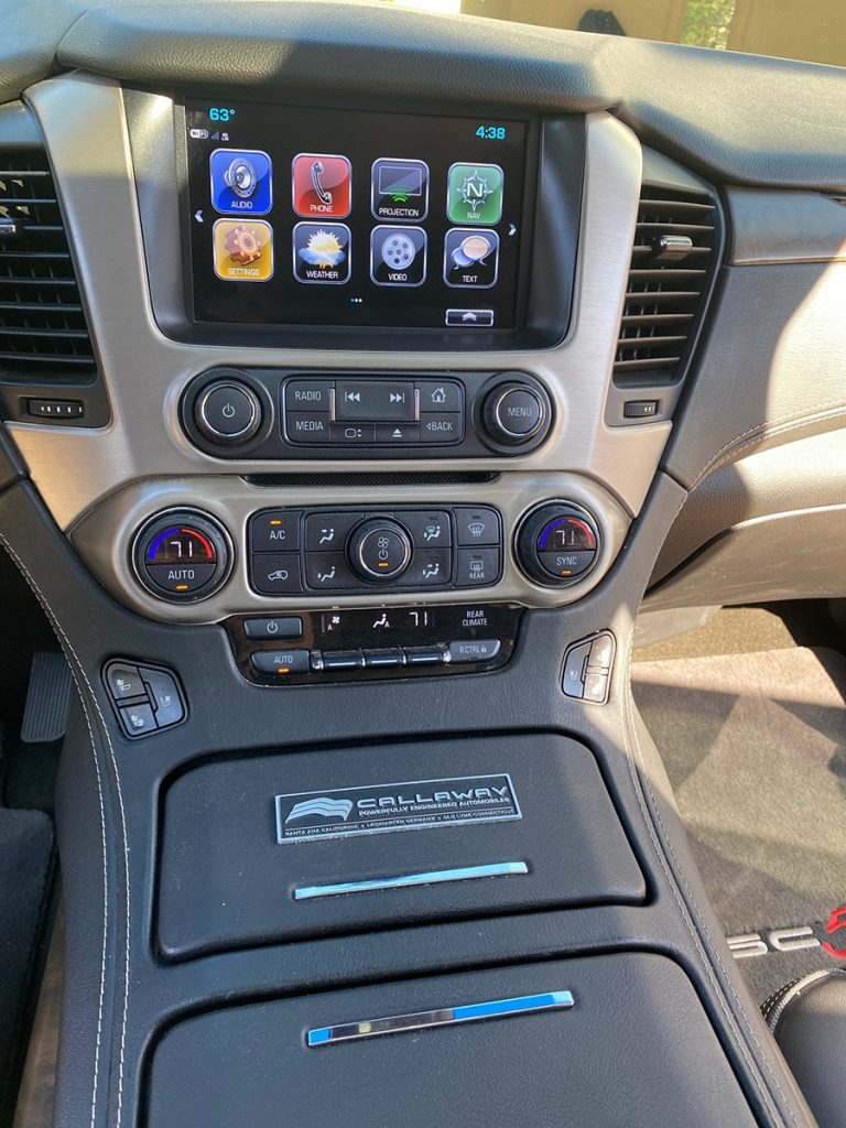 2018 Callaway Yukon XL SC560 - Interior