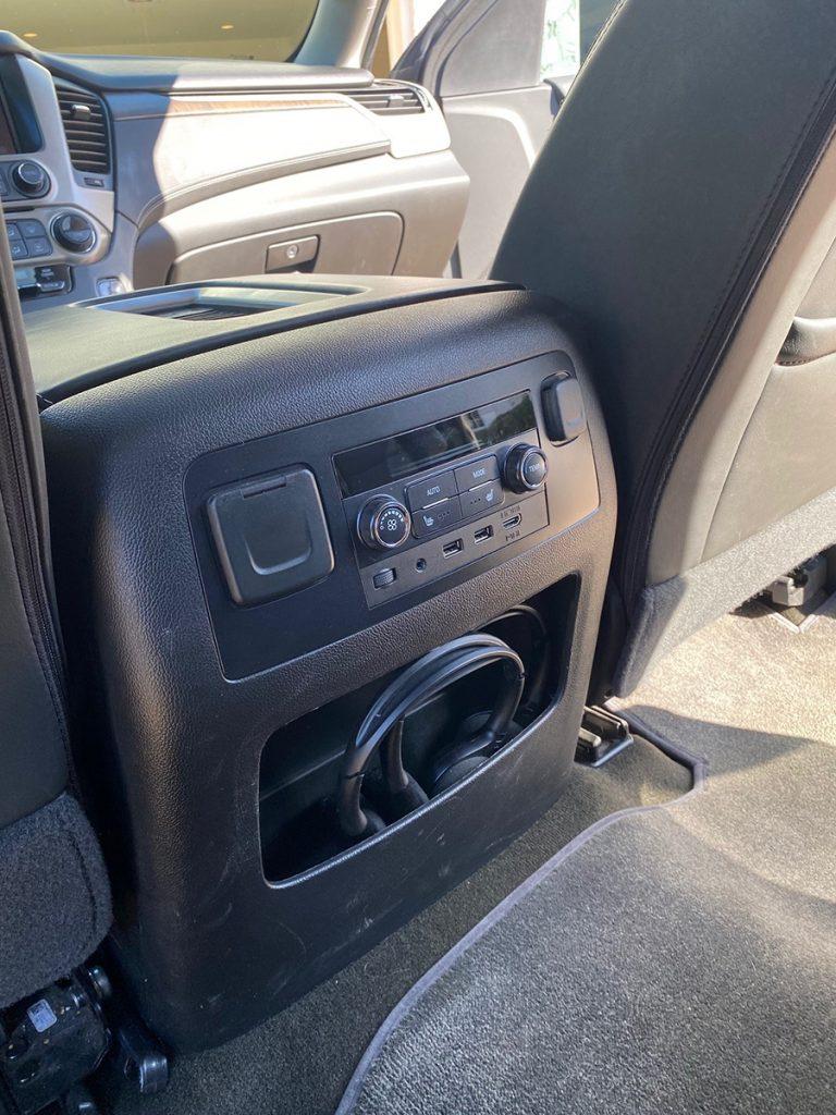 2018 Callaway Yukon XL SC560 - Rear Controls