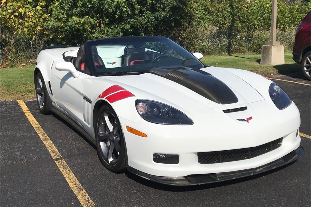 2011 Callaway Corvette SC606 - front view