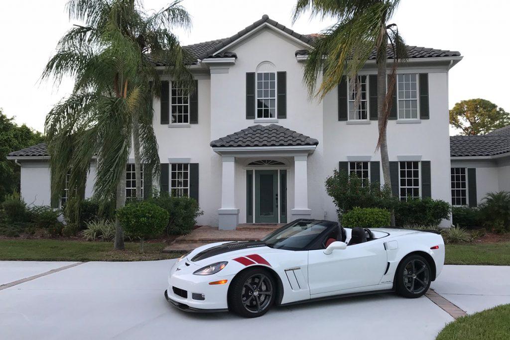 2011 Callaway Corvette SC606 - side view