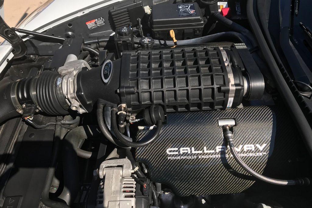 2011 Callaway Corvette SC606 - underhood