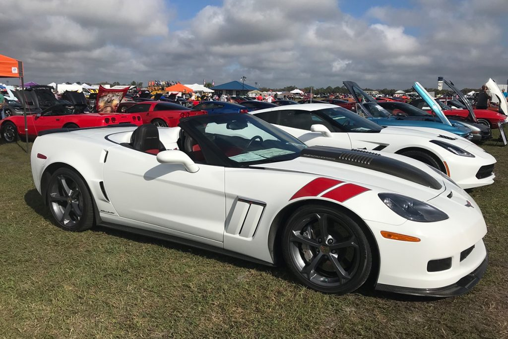 2011 Callaway Corvette SC606 - car show