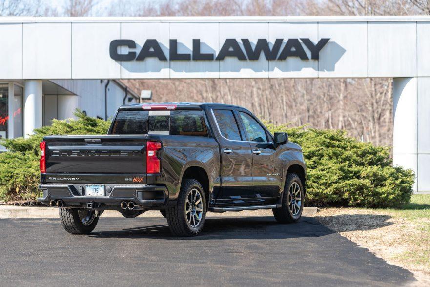 Callaway Silverado SC602 - Rear View