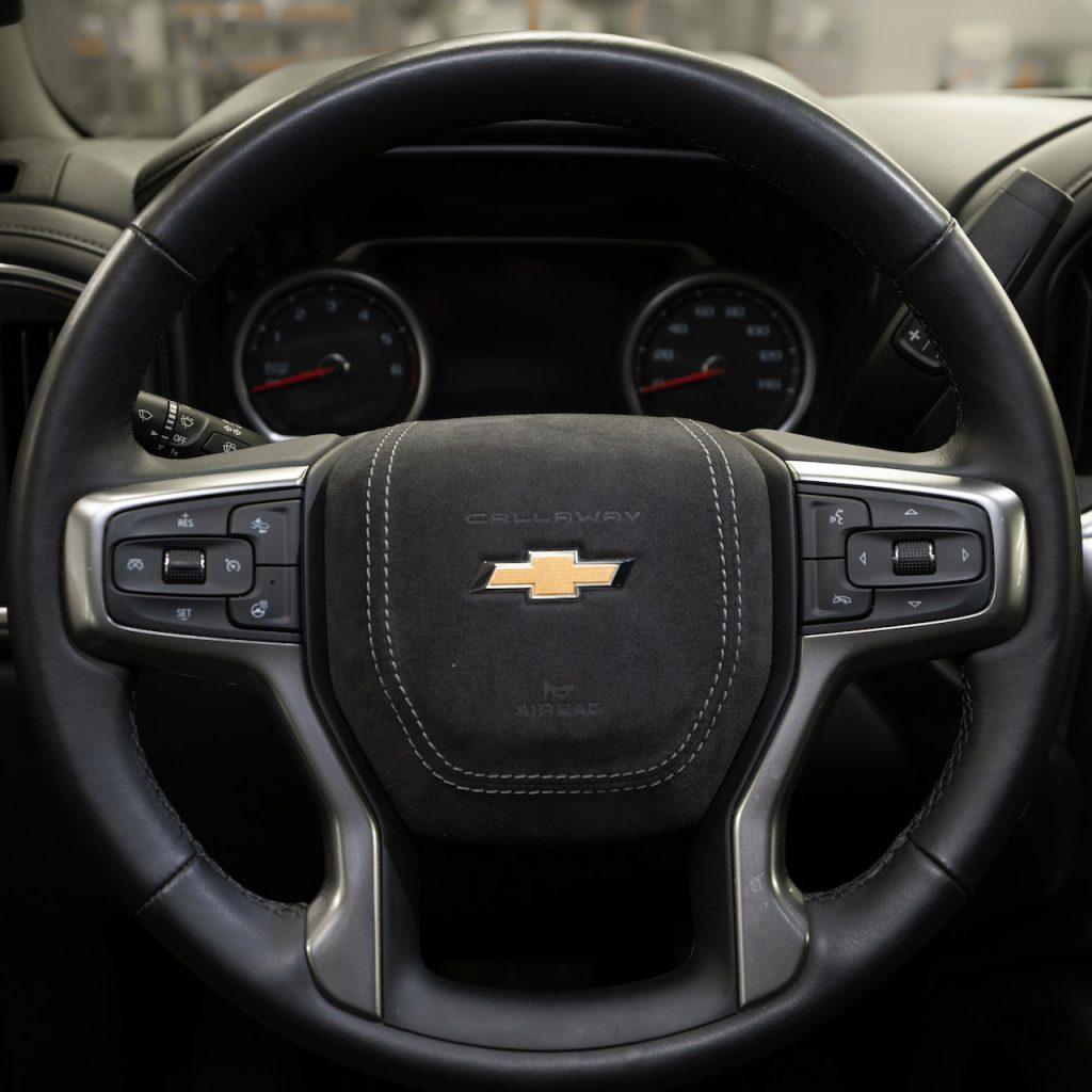 Callaway Silverado SC602 - Steering Wheel