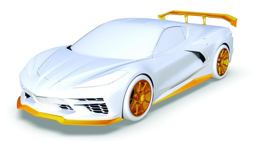Callaway Corvette C8 Rendering front