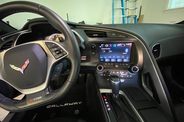 2019 Callaway Corvette SC757 - Instrument Panel