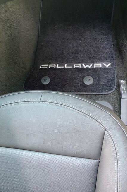 2019 Callaway Corvette SC757 - Driver's Floor Mat