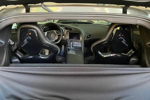 2019 Callaway Corvette SC757 - Interior View